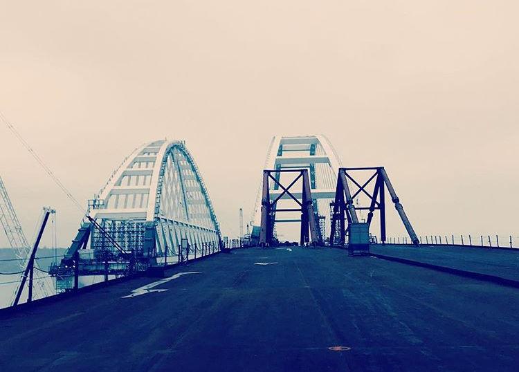 Крымский мост шокировал Youtube