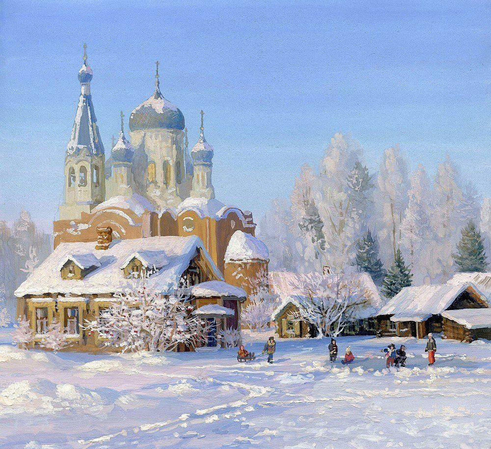 Красивые открытки с храмами