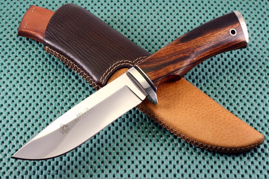 Как изготовить охотничий ножвидео нож sisu cold steel 60ss