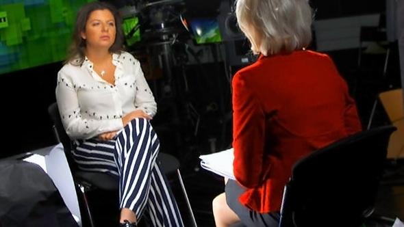Иностранцы об интервью Маргариты Симоньян каналу CBS