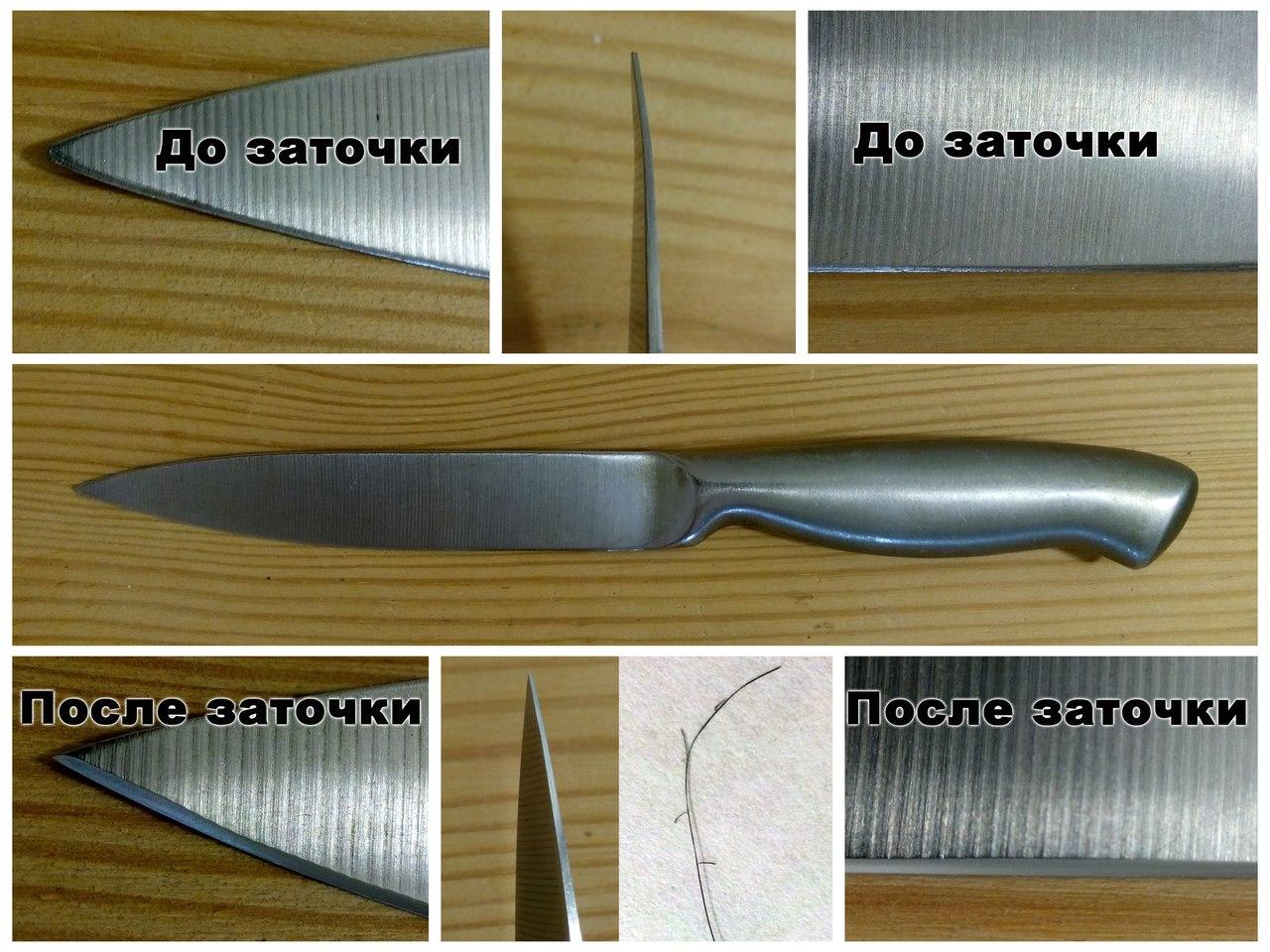 Угол заточки японских кухонных ножей