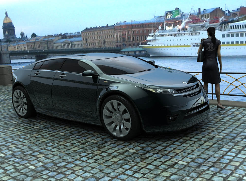 Новая Волга 2018-2019 года — модель ГАЗ 5000 GL: фото, цена, технические характеристики