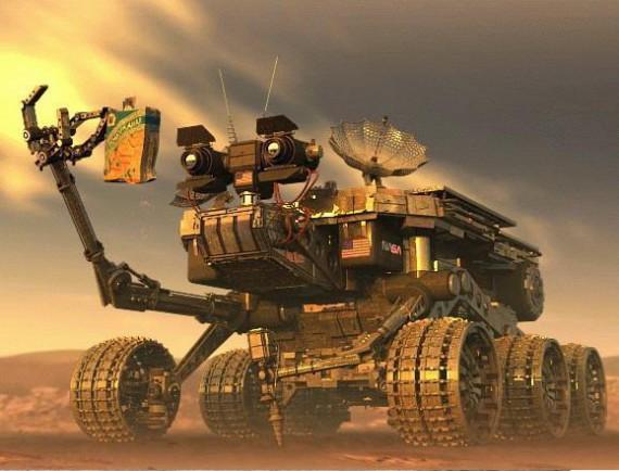 Мы первые на Марсе! Попробуйте оспорить