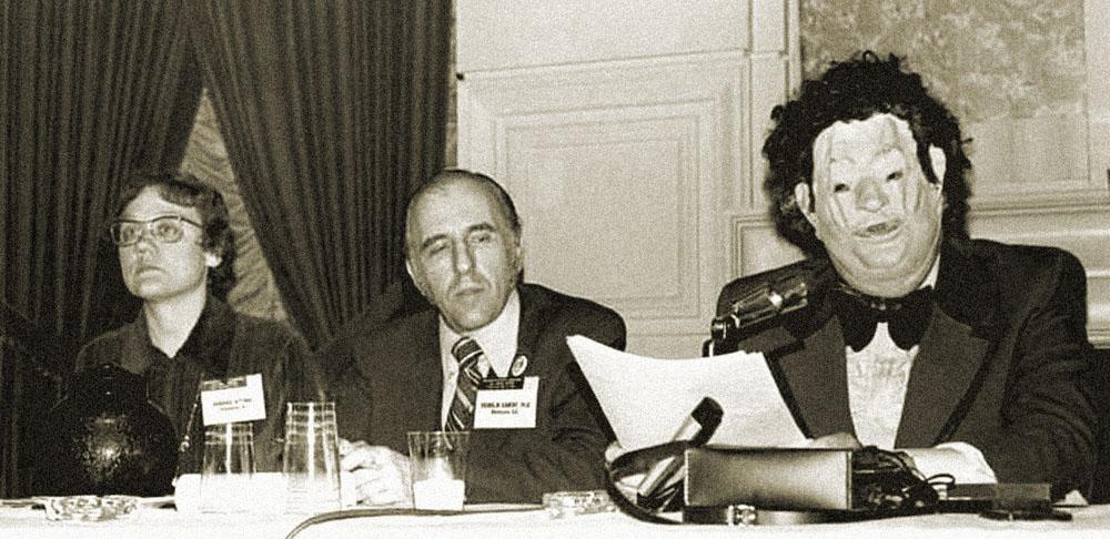 Гей-активисты на 125-ой конференции АПА в 1972