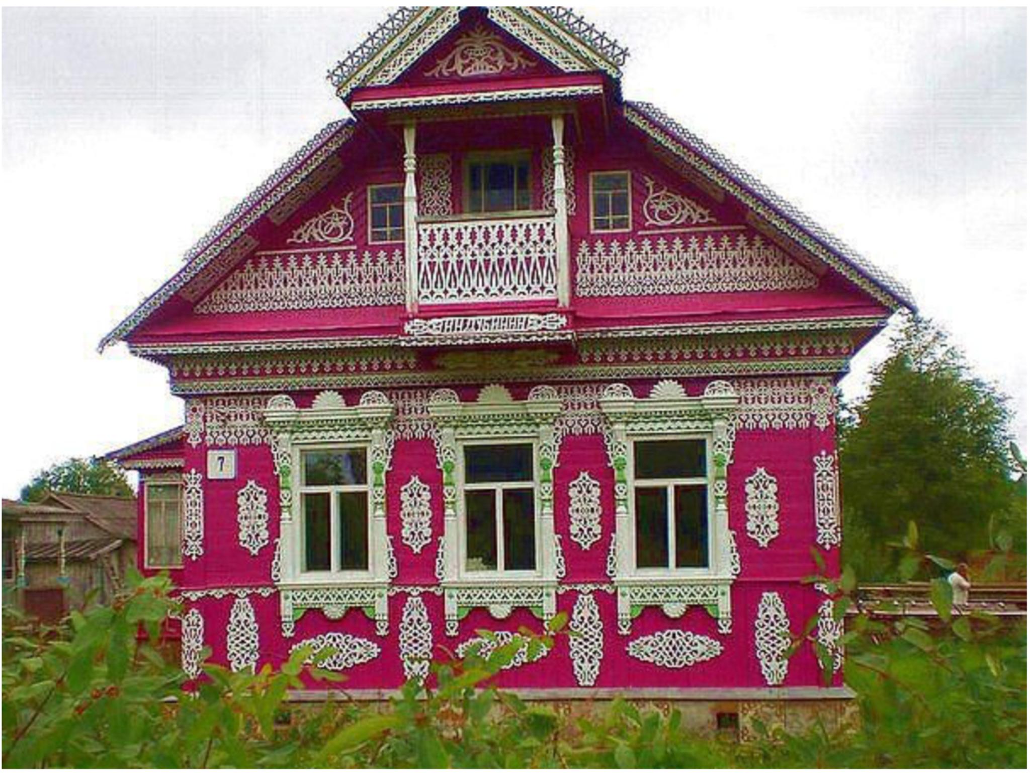 решила картинки деревянного деревенского дома раме нет трефы