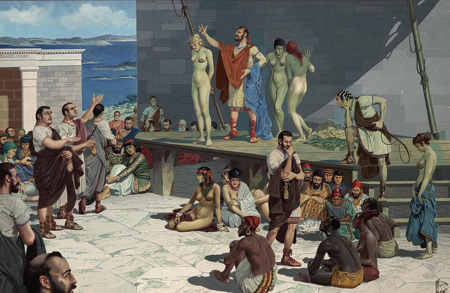 картинки дамы и их рабы