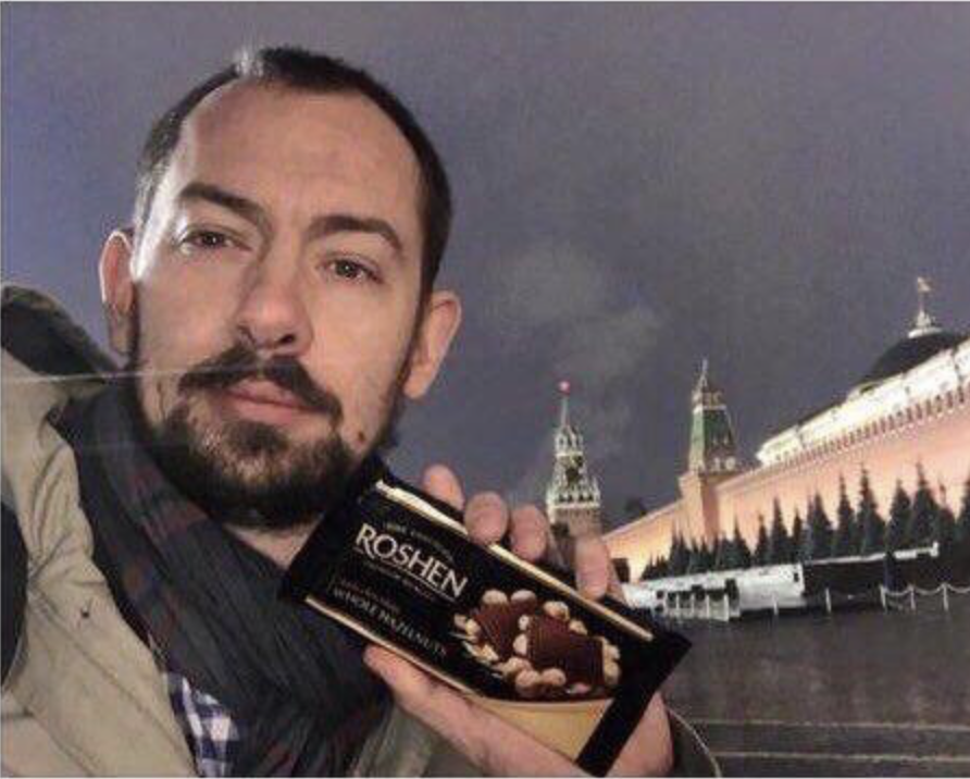 Украинский журалист Роман Цымбалюк нанес удар по Кремлю