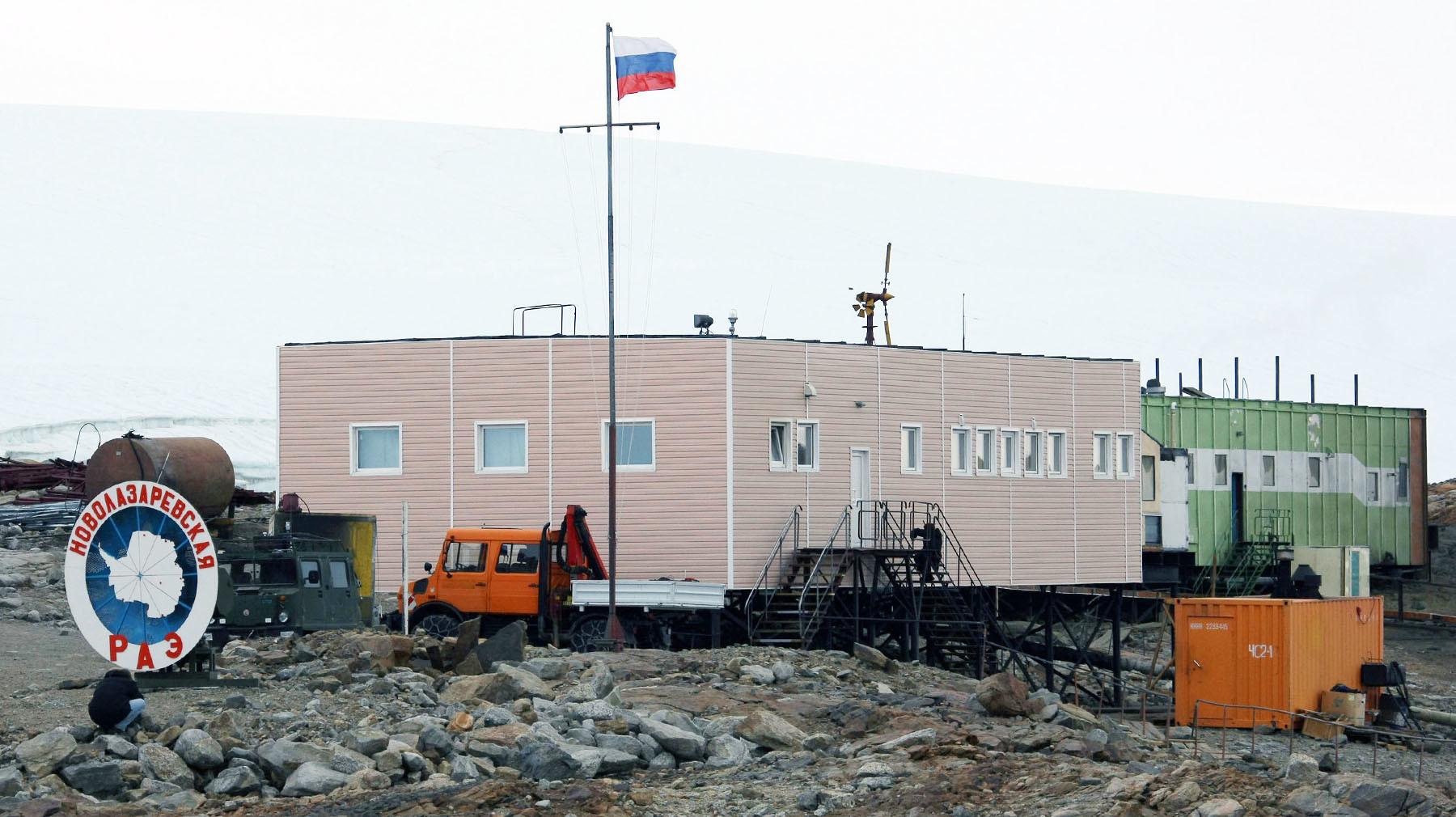 новолазаревская антарктическая станция фото