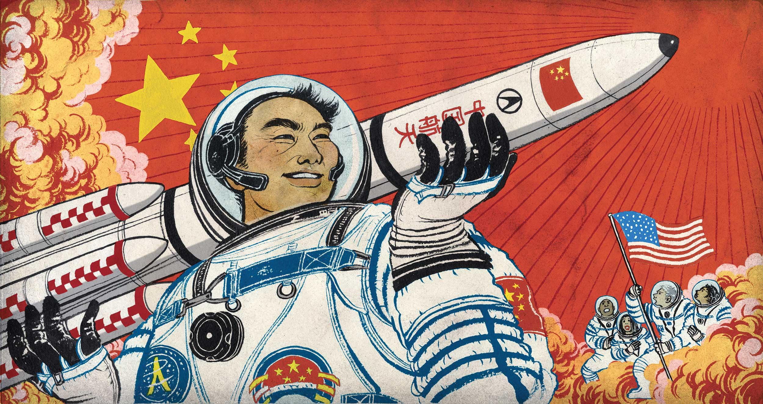китайцы на луне смешные картинки комитет взаимодействии полицией