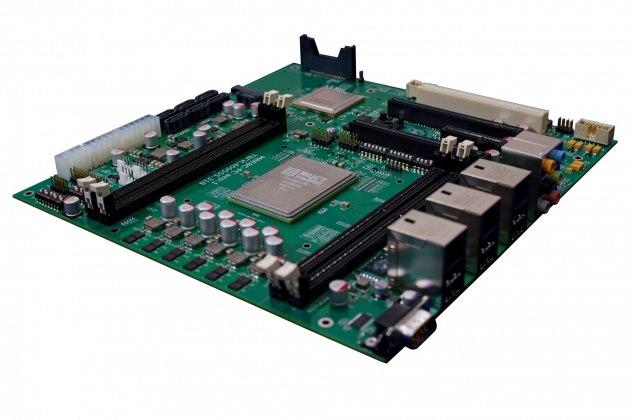 На базе процессоров «Эльбрус» будет создан сверхтонкий блейд-сервер