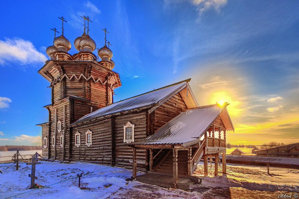Покровская церковь на Кижах