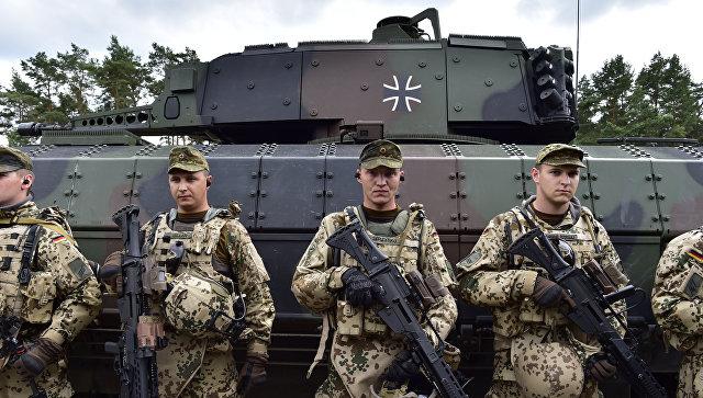 Германия сдерживает Россию