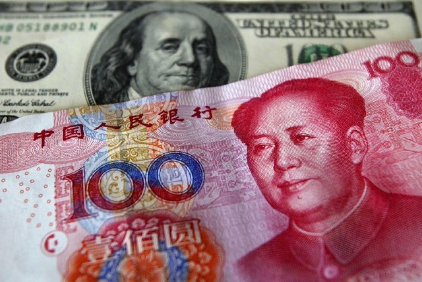 Рубль, юань и долларовая система