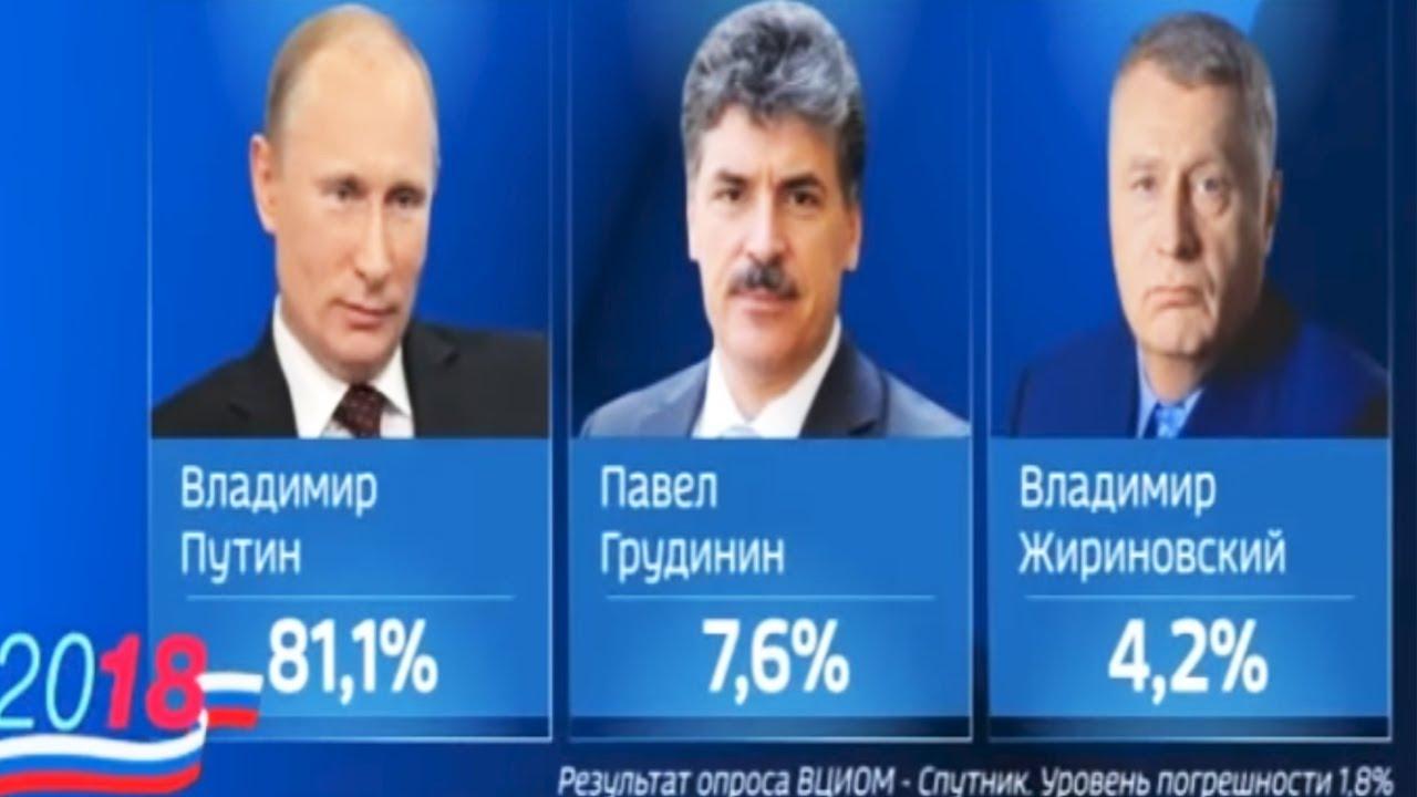 Москвичи неохотно проголосовали на выборах Путин за