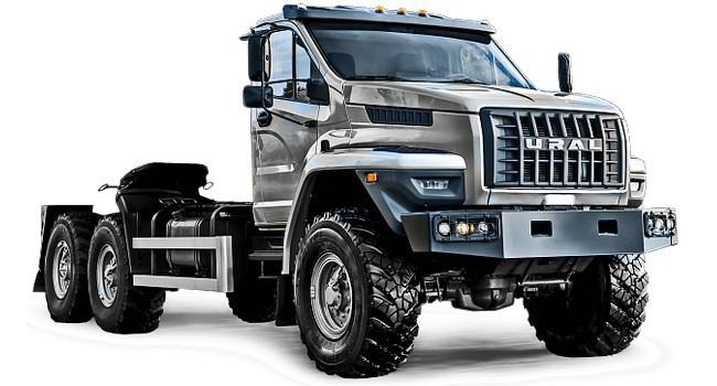 Мини-автокран: на базе тягача «Урал Next» разработана новая модификация