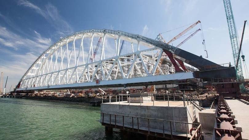 В Крыму отреагировали на украинский план блокады моста