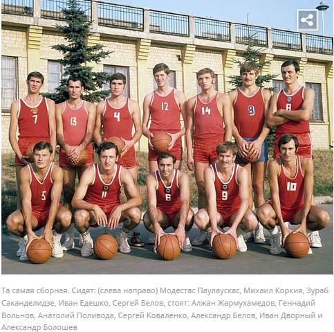 Беспредел: результат баскетбольного финала Мюнхена-1972 отменён судебным решением