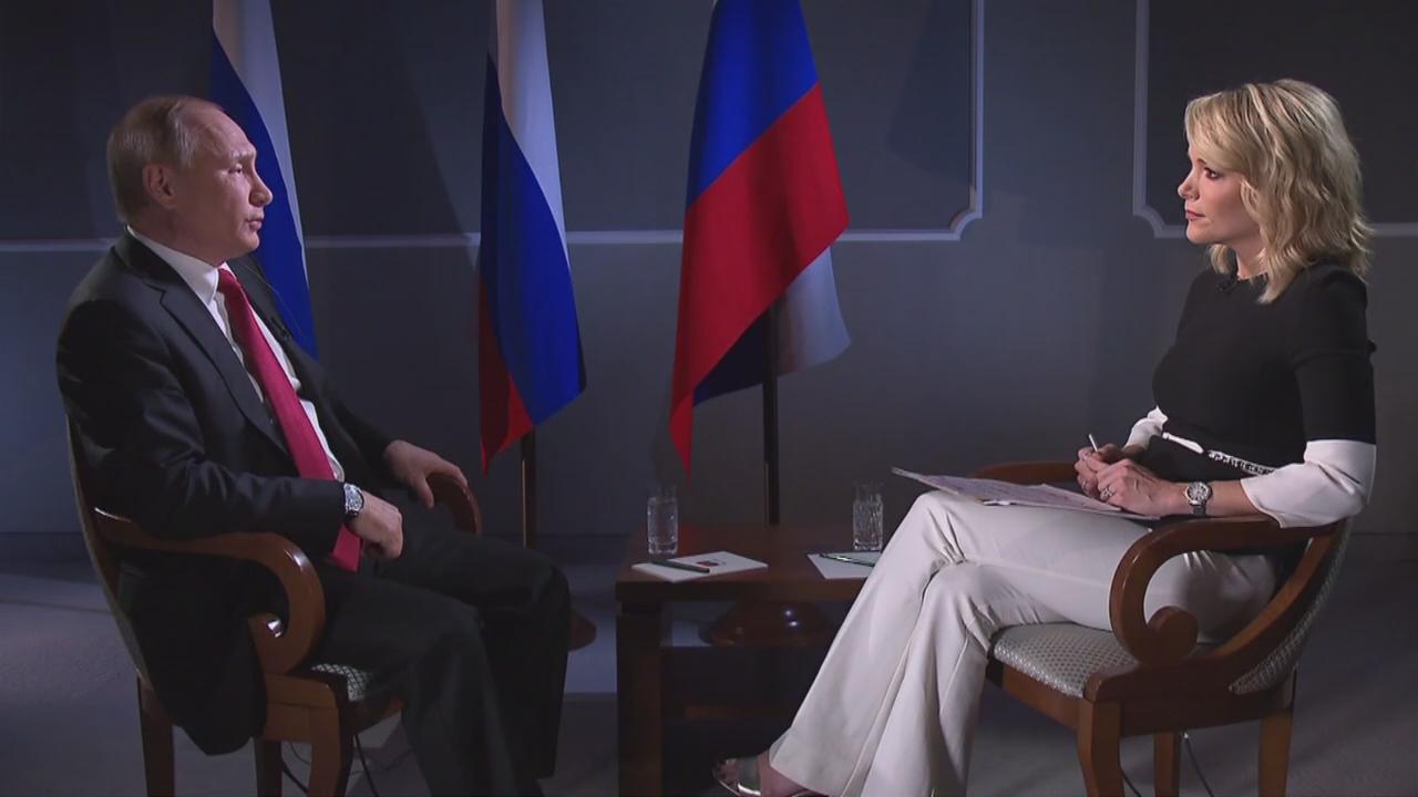 Владимир Путин дал интервью NBC | Видео | Известия