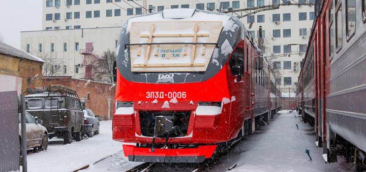 Удобные и современные: новые электрички типа ЭПЗД прибыли в Ростов