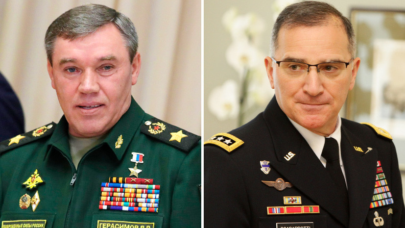 «Альянс прерывает паузу»: о чём будут говорить глава Генштаба ВС РФ и командующий силами НАТО в Европе
