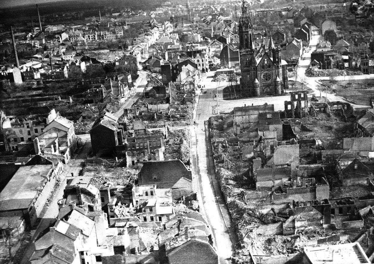 Германия после второй мировой войны фото