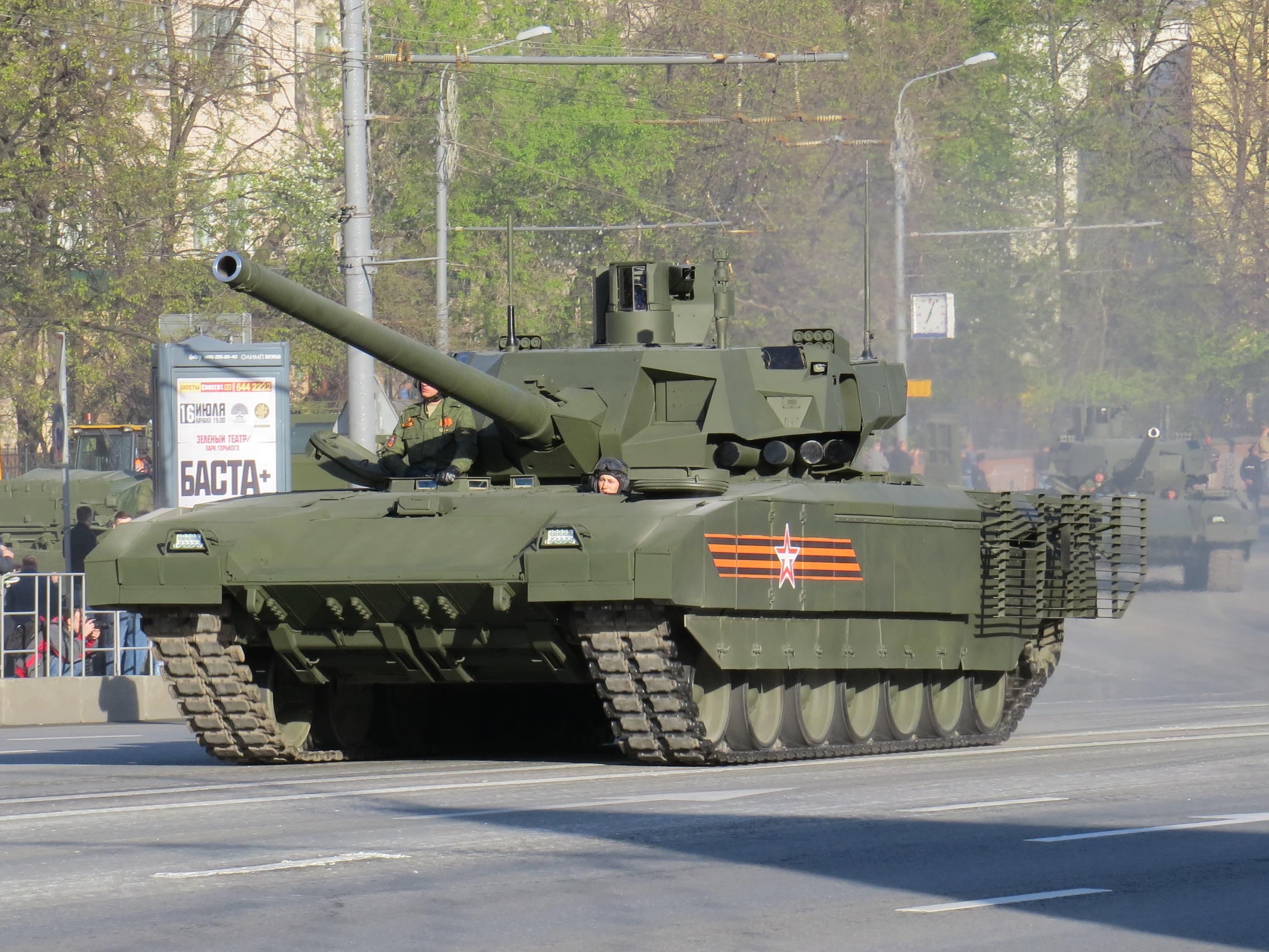 современные танки россии фото и описание