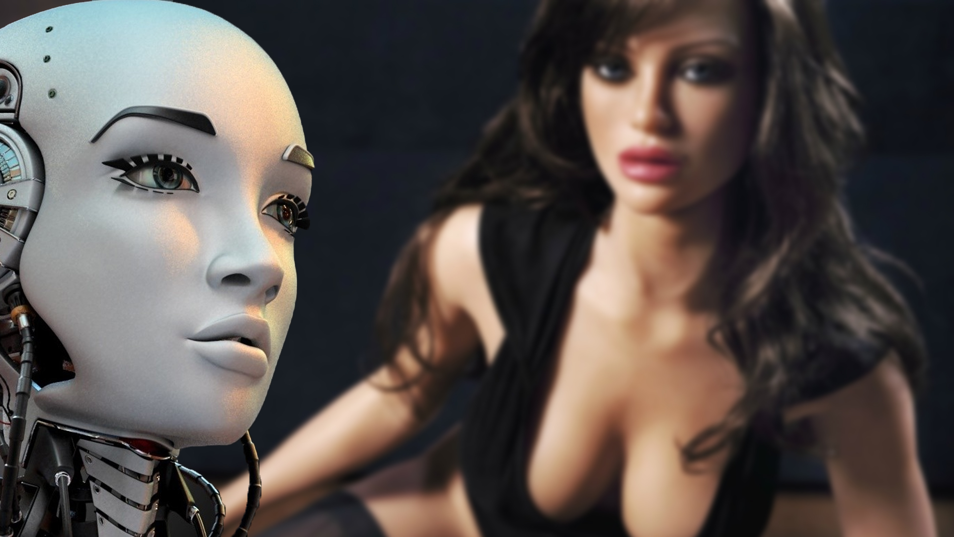 Humans having sex with robots