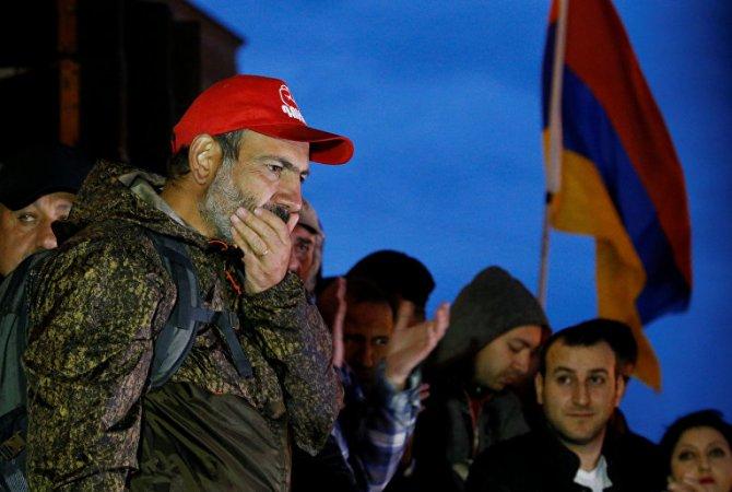Революция в Армении – подготовка сдачи Нагорного Карабаха