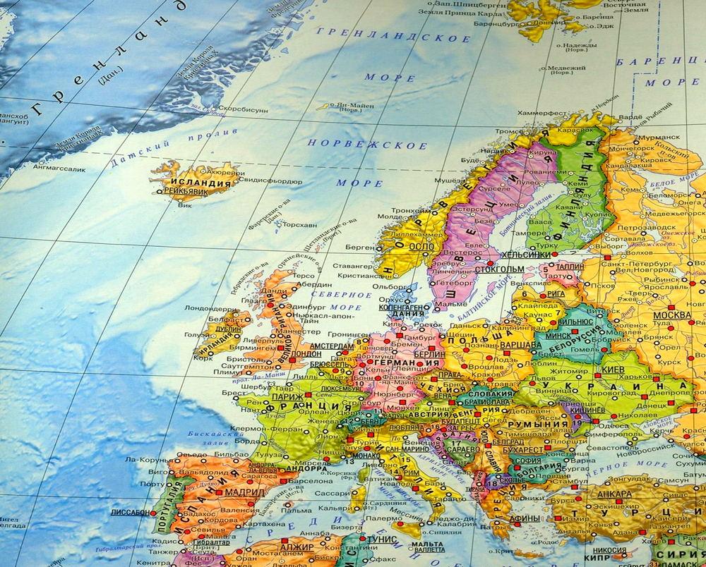 девка карта европы со странами крупно фото был