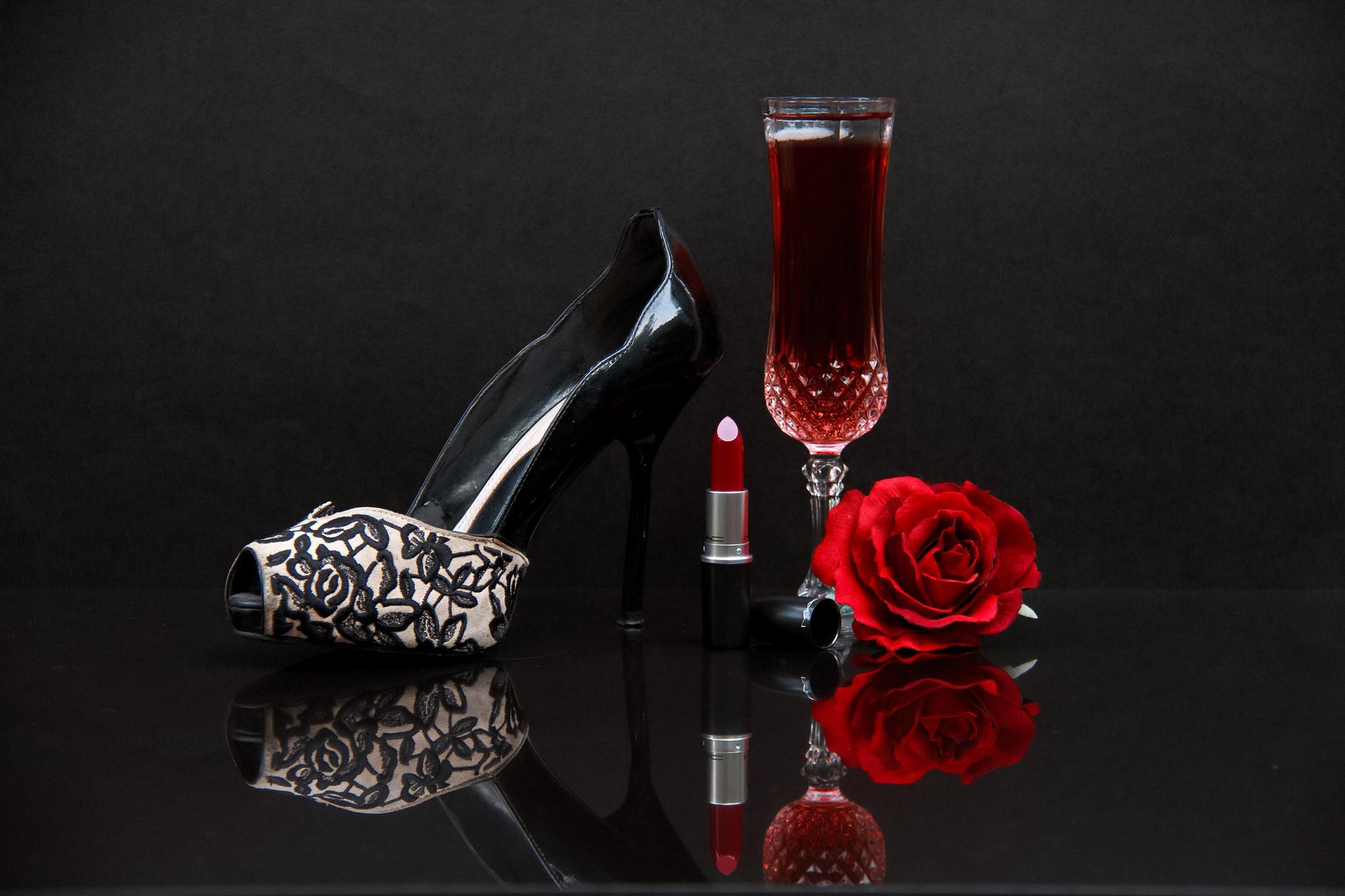 Туфли и розы  № 3398349 загрузить