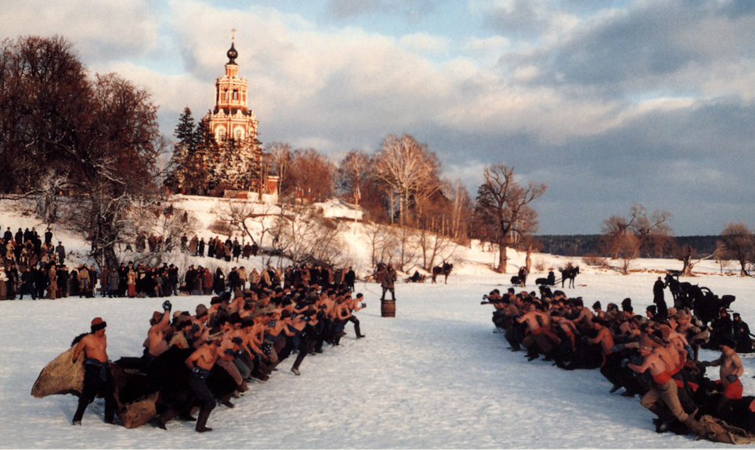 Русская пехота в рукопашном бою