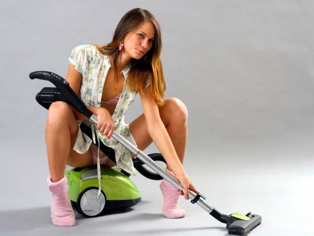 Фото сексуальных уборщиц