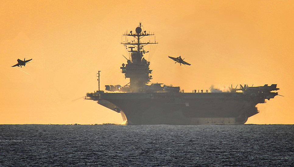 """""""Калибровка"""". Зачем Россия возвращает в Средиземное море ударную эскадру"""