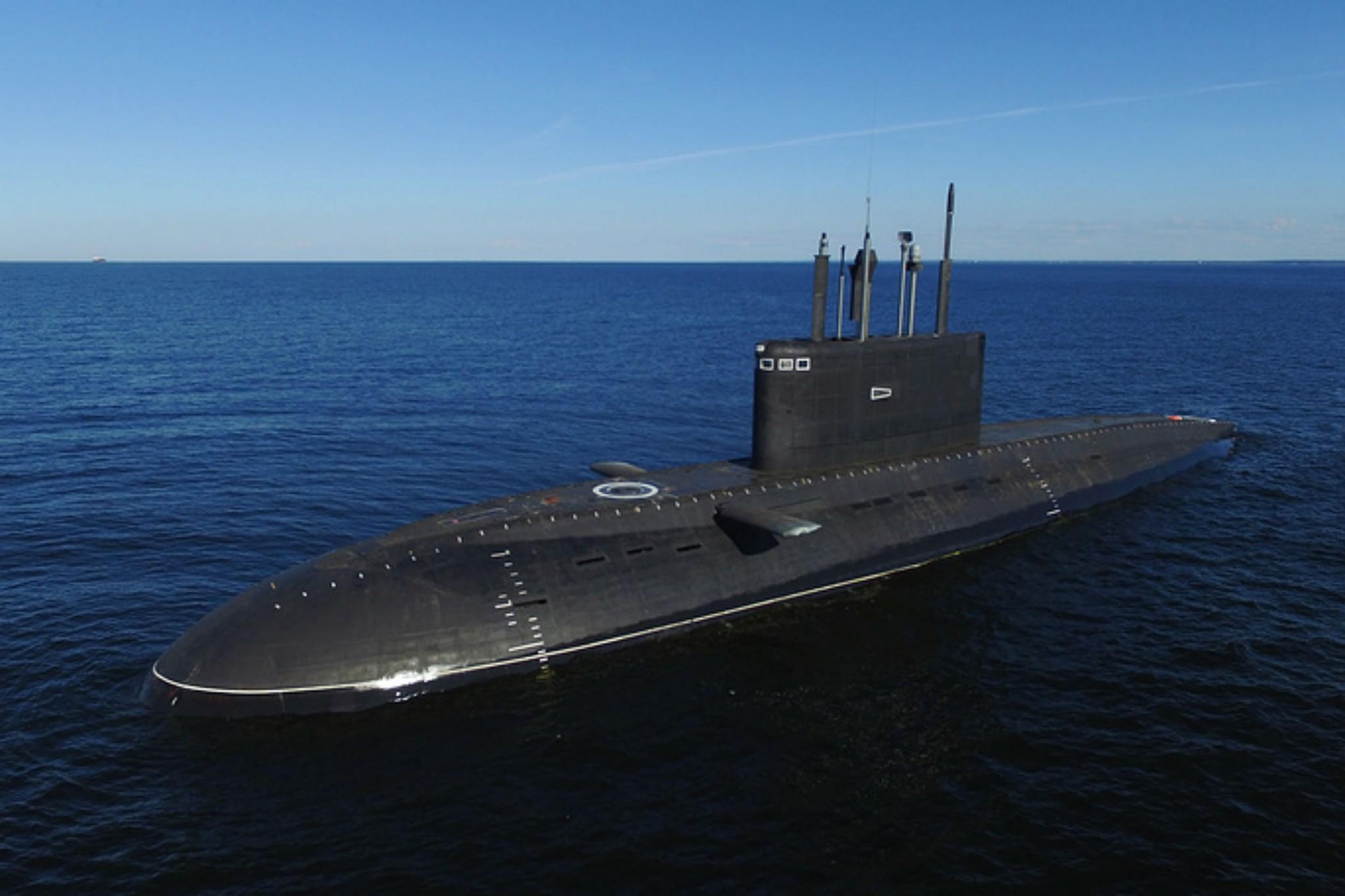 О российских подлодках в Средиземном море