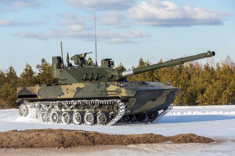 «Спрут» летает и стреляет: новую самоходку для ВДВ уже называют «истребителем танков»