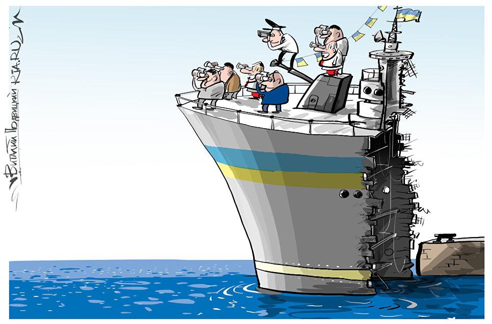 Чем сопровождать-то собрались? Украинский адмирал призвал готовиться к блокаде Керченского пролива