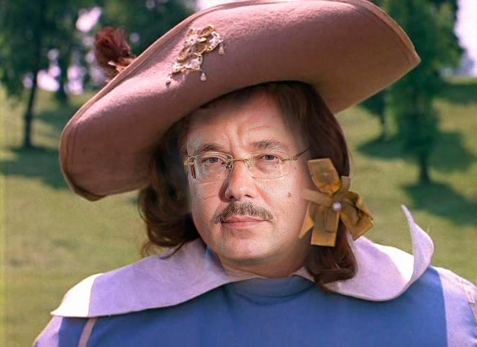 Портос мушкетер картинка