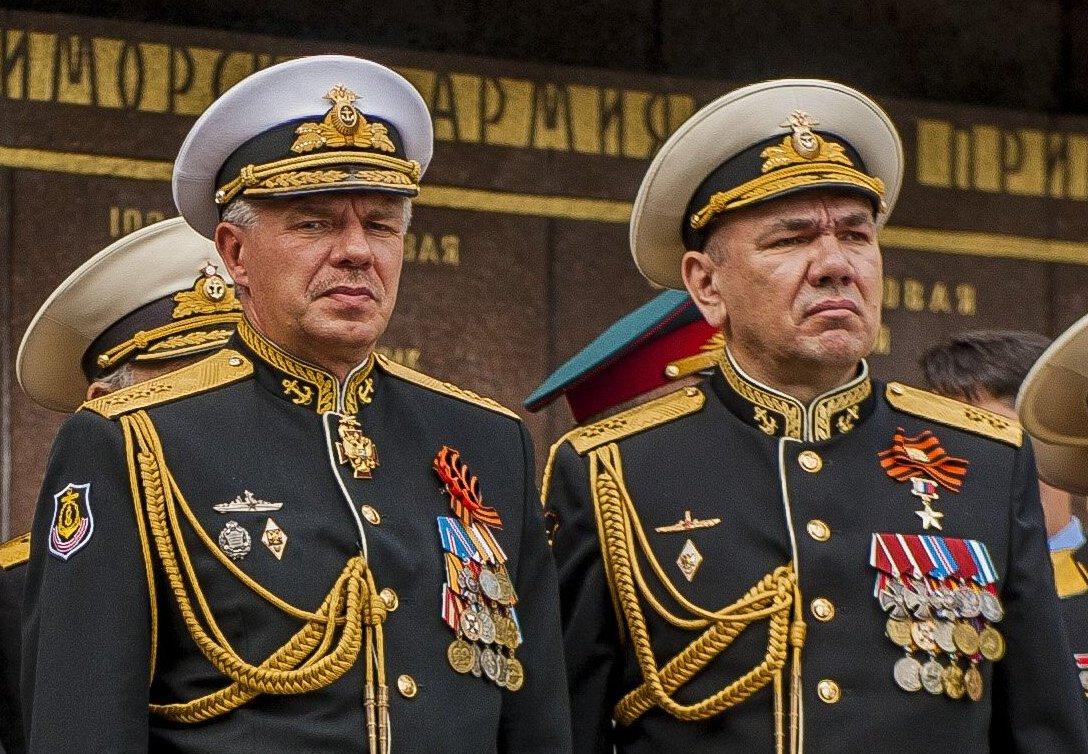 Смена командующего Черноморского флота