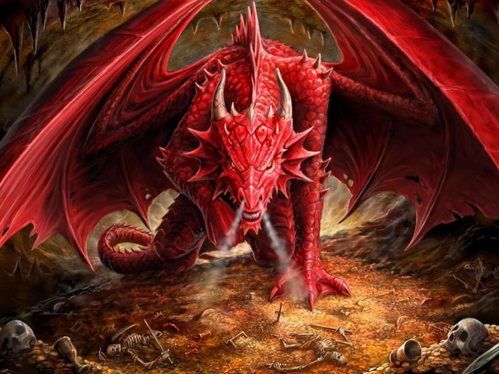 Картинки дракона на обои