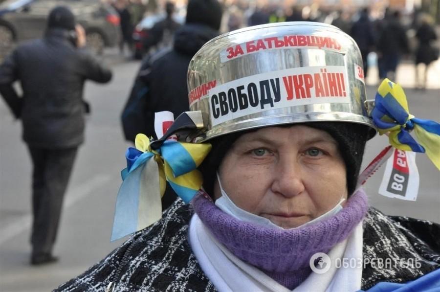 украинцы с кастрюлями на голове фото