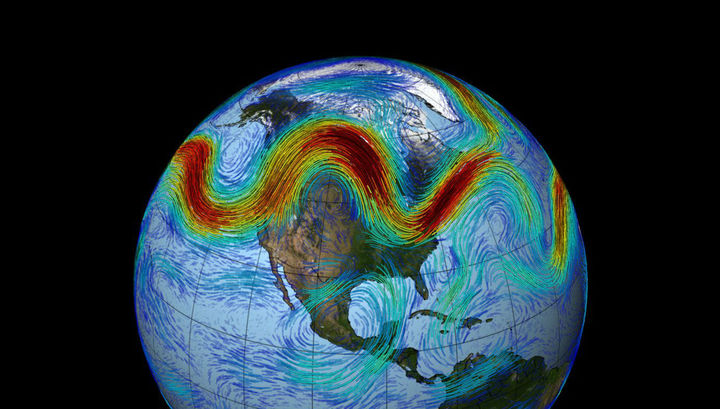 Воздушные потоки могут спровоцировать разрушительные погодные аномалии