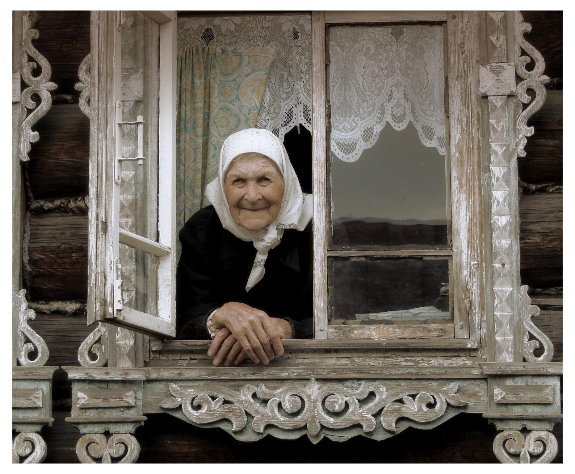 Фото мама у окна