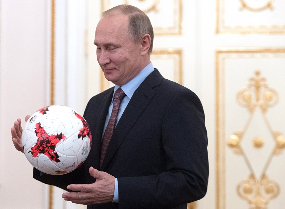 Праздник футбола в России: Путин опять переиграл