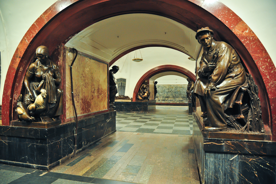 15 июня 1931 года на Пленуме ЦК ВКП(б) было принято решение о строительстве Московского метрополитена