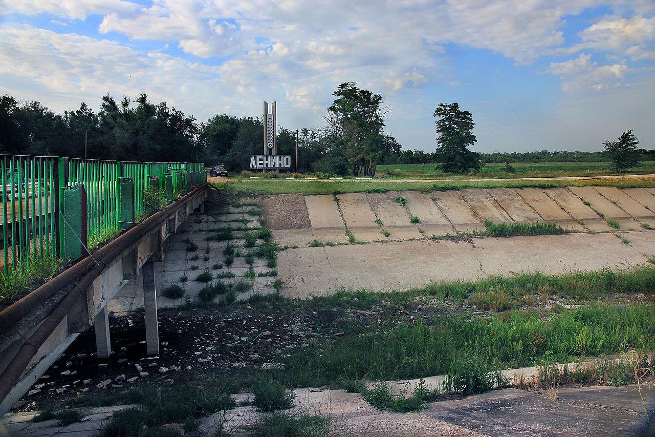 Украина в злобе построила дамбу - в надежде, что Крымчане вымрут от жажды
