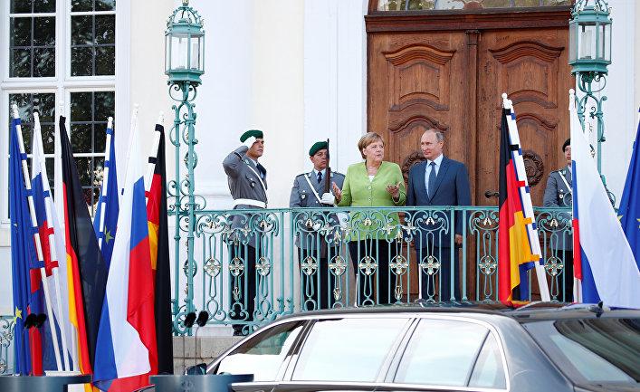 Bloomberg (США): Европа улучшает отношения с Путиным