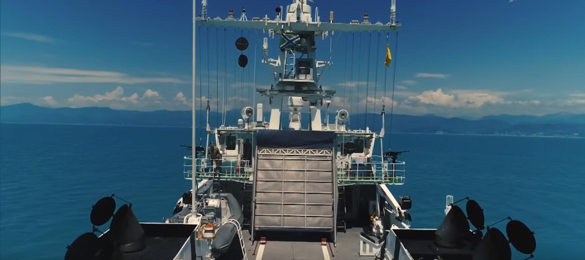 ФСБ: оперативная ситуация в Азовском море.