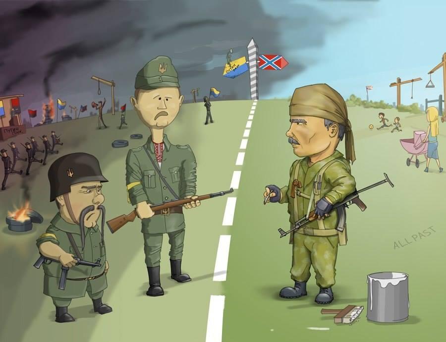 Прикольные картинки с войной