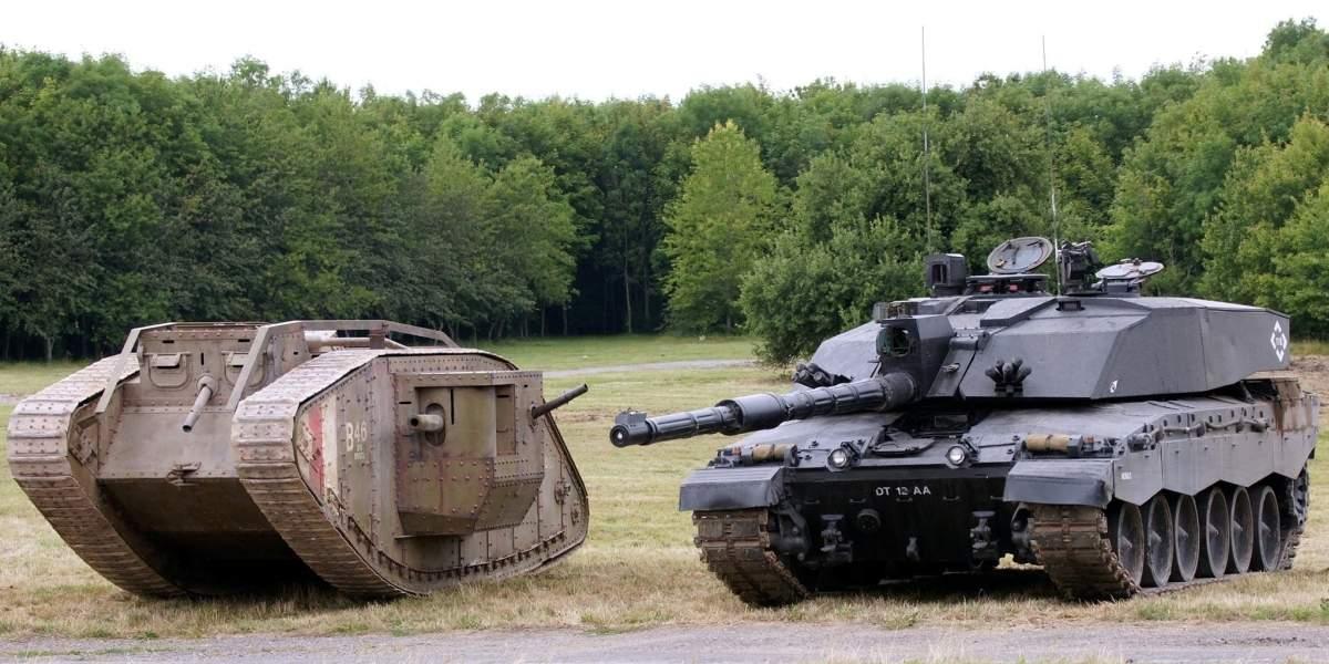 Британское танкостроение стало немецким
