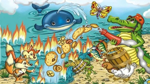 Море тушили пирогами и грибами что корней курил — photo 1